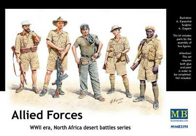 MASTER BOX MB3594 Allied Forces North Africa 1:35