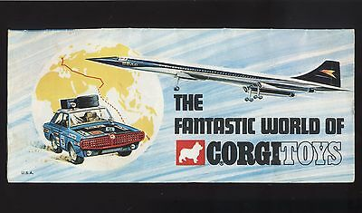 1969 Corgi Toys Catalog - Batmobile, James Bond, Monkees, Beatles - Diecast Cars