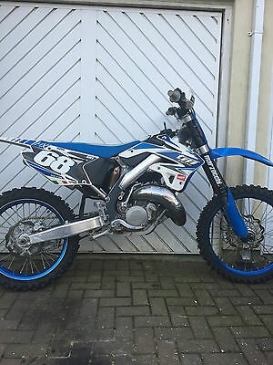 TM 125 2012 motocross bike Exceptional condition