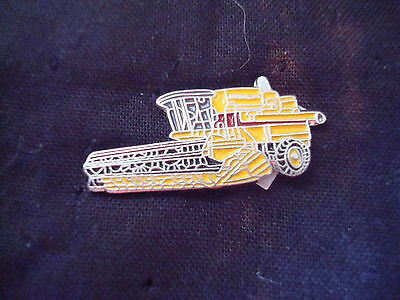 NEW HOLLAND COMBINE  Hat Pin Lapel  Pin
