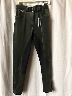 Eurofit Cord Breeches with full leather seat, 28L