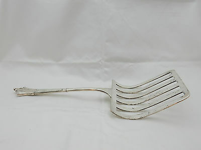 Antique Vintage Art Deco Silver Plated Roberts & Belk Spatula Cake Slice Lifter