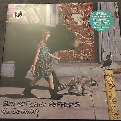 "Red Hot Chili Peppers ""the Getaway"" 2 X Vinyl Lp"" New And Sealed"