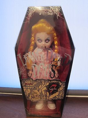 """Living Dead Doll 10"""" Wrath 7 Deadly Sins Series 7 great condition"""