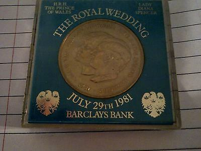 The Royal Wedding Coin - Prince Charles & Lady Diana - July 29th,1981