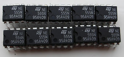 20 pcs LM555N ST Single Timer DIP-8. 555 NOS