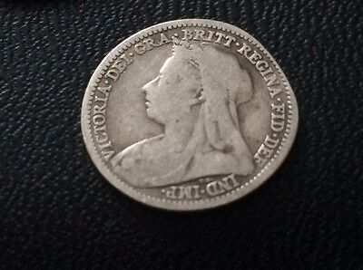 1900 maundy coin