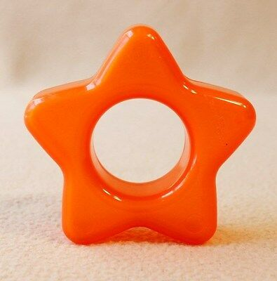 REPLACEMENT Piece for Fisher-Price Vintage Star Stacker, Orange Star ONLY