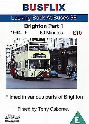 Busflix Films Looking Back at Buses 098 Brighton part 1