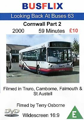 Looking Back at Buses 63 Cornwall Part 2 DVD Film from 2000
