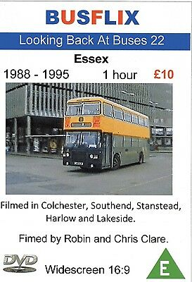 Looking Back at Buses 22 Essex 1988 - 1995