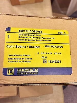 New In Box Square D 8501Xudo80V63 Dc Utility Control Relay Series A Best Price