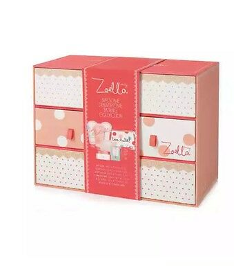 Zoella Awesome Drawersome Bathing Collection X Beauty Box Set New