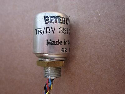 Beyer Dynamic TR/BV 351 015 006 MC Step Up Input Microphone Transformer Germany