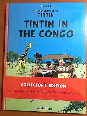 Tintin in the Congo Casterman 1st Collectors Edition 2015 EO Herge first comic