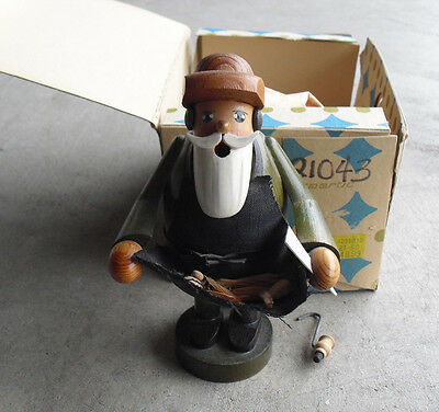 """Vintage Expertic German Smoker Man with Knife and Apron in Box 7"""" Tall"""