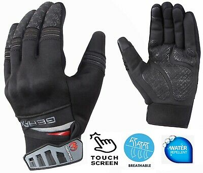 Softshell Motorcycle Gloves Knuckle Shell Protection Short Mittens