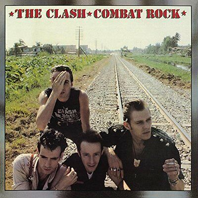 The Clash Combat Rock 180 Gram Lp New And Sealed Punk Kbd Remastered