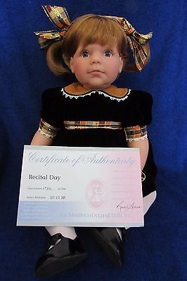 Lee Middleton Doll  Recital Day  New in Box