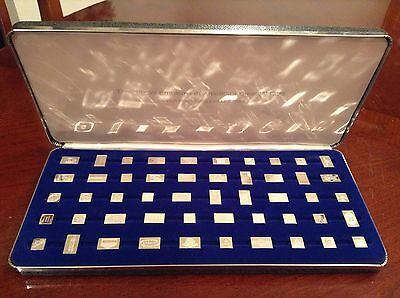 Franklin Mint 50 Official Emblems of America's Greatest Cars Silver Miniature
