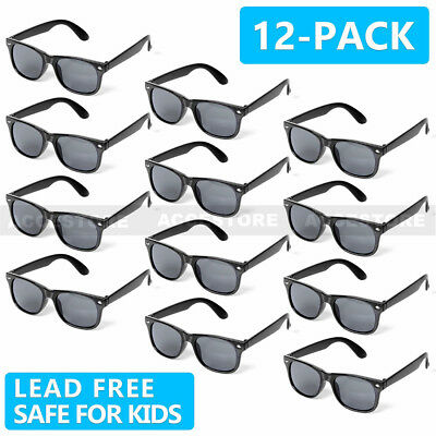 Wholesale Lots of 12 Pairs Kids Fashion Sunglasses Boys Girls Age 3-12 Children