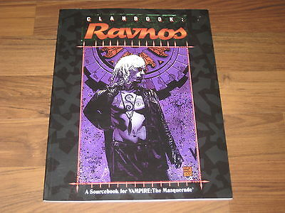 Vampire The Masquerade Clanbook Ravnos 1997 White Wolf WW2064