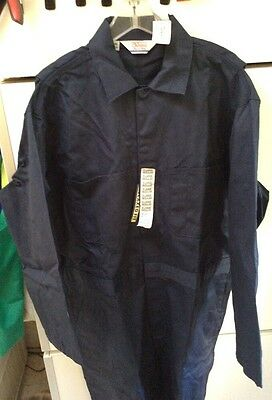 WALLS Master Made Mechanic Worker Coveralls Size Large Regular Relaxed Fit