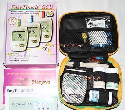 EasyTouch for Glucose, Uric Acid & Cholesterol Meter 3 in 1 Monitoring System