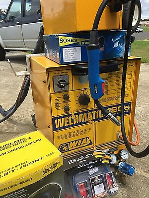 Wia Mig Welder With Seperate Wire Feeder 180S 240 Volt + Extras
