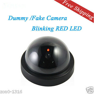 indoor/outdoor Dummy IR Led Wireless Fake dome camera home CCTV Security Camera