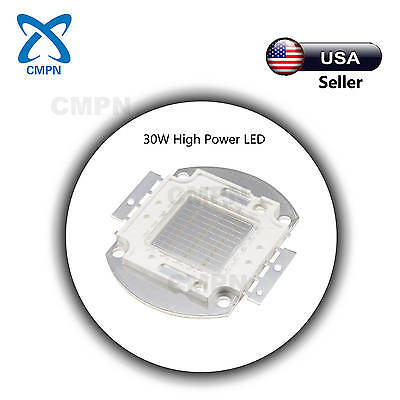 1Pcs 30W High Power LED Blue 460-470nm SMD Beads Chip Flood Light Lamp Diodes