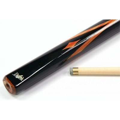"SALE DUFFERIN S301 Orange Diamonds and V Shape Flame 57"" Pool CUE - Billiards"