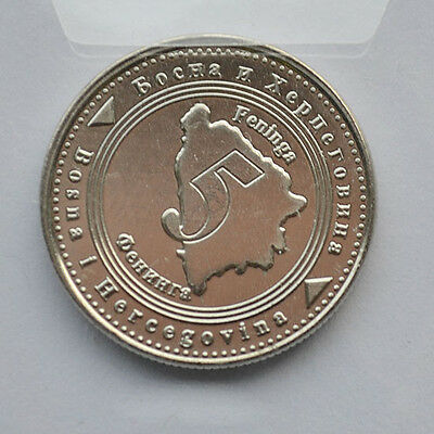 World Coins Coin Collection Coins Bosnia and Herzegovina 5 Finney coins 2011
