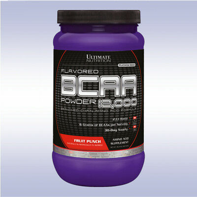 ULTIMATE NUTRITION BCAA POWDER 12,000 (60 SERVINGS) aminos recovery endurance
