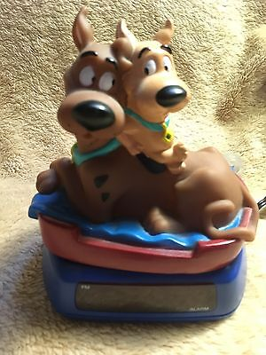 Scooby Doo and Scrappy clock electric or battery by Disney Fantasma