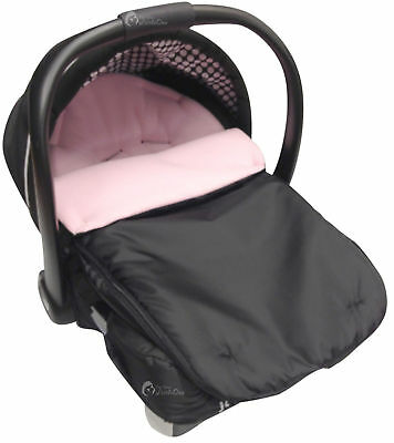 Car Seat  Footmuff / Cosy Toes Compatible with Joie Light Pink