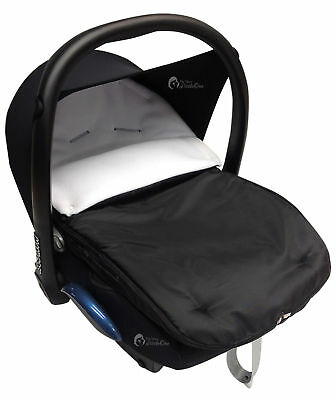 Car Seat  Footmuff / Cosy Toes Compatible with All Car Seats Off White
