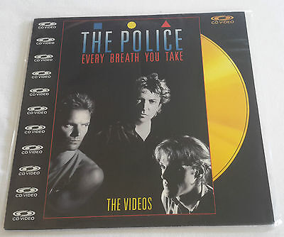 The Police – Every Breath You Take (The Videos) laserdisc laser disc STING