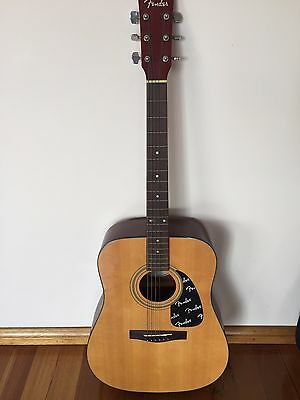 Fender Acoustic Guitar DG-8 NAT with cover