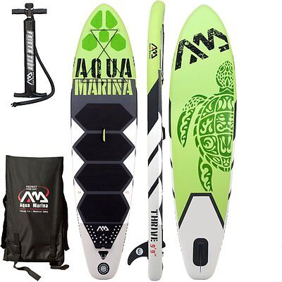 AQUA MARINA THRIVE SUP inflatable Stand Up Paddle Board 150mm Thick