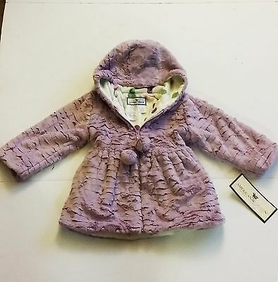 13f304817 AMERICAN WIDGEON HOODED Faux Fur Plush Coat for Girls -  19.95 ...