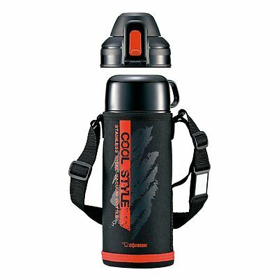 Zojirushi SP-HB08-BR Stainless Thermos Bottle 0.82L (Red Black)