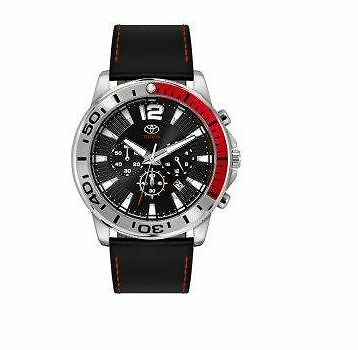 Toyota Gents Chronograph Watch  - Leather Strap