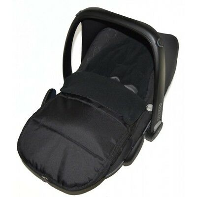 Car Seat Footmuff / Cosy Toes Compatible With Kiddy Black Jack