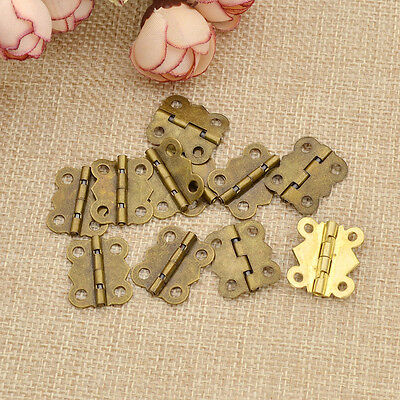 Alloy Butterfly Hinges with Screws DIY Woodworking Craft Supplies House Boxes
