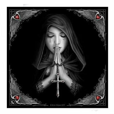 Anne Stokes Gothic Prayer Small Tile Collectible Art Tile - Tracked Post