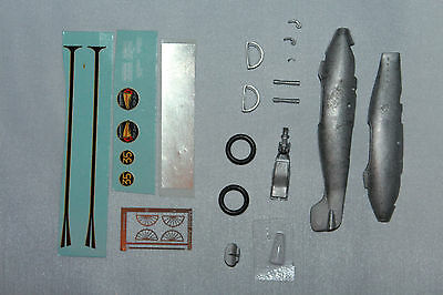 World's Fastest Indian Kit As Restored In 1987, 1/43 Scale, White Metal