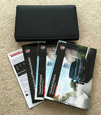 Vauxhall Insignia Genuine Owners Manual Handbook + Service Book 2013-2016 #3674