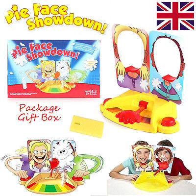 Suspense Toy Fun Filled Pie Face Showdown Kids Game Dual Challenge Family Time