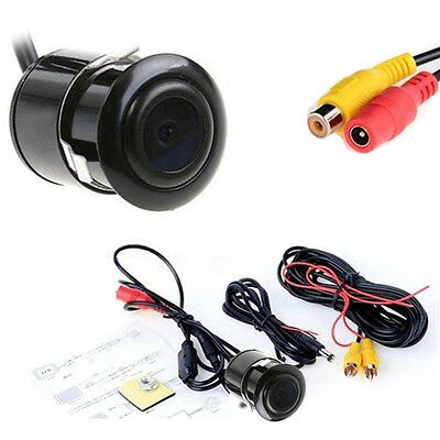 Universal 170 Degrees Wide-angle Night Vision Reversing Rear-view Car Camera 12V